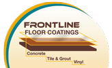 Frontline Floor Coatings Sticky Logo
