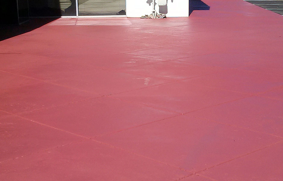 Stained Concrete after pic